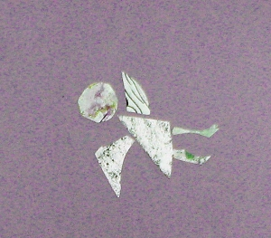 Reise Seele violett