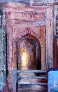 Arabische Fassade, Tor, a
