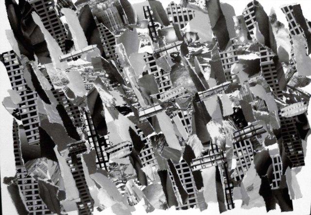 Collage 6, half tone
