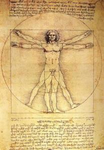 Leonardo, Vitruvianischer Mensch