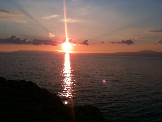 Sonnenuntergang 4.1.