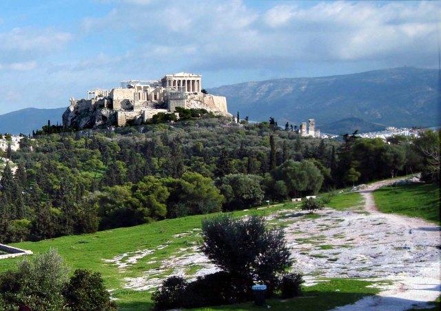 Akropolis mit Hymettos copy