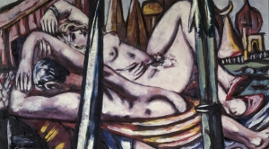 Gemälde / Öl auf Leinwand (1944) von Max Beckmann