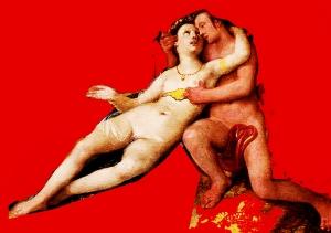 Cornelisz Cornelis Venus And Adonis With Cupid In A Landscape