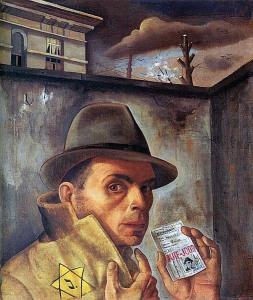 Felix Nussbaum mit Pass