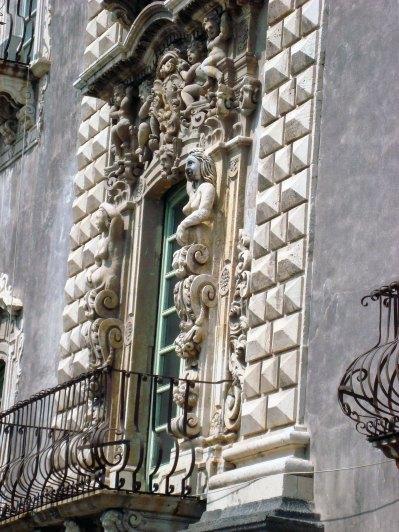 Barockfassade in Catania