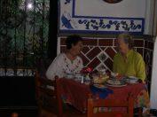 mit Helen Escobedo in Puebla