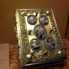 Bibel 17, Jh für griechische Familie in Russland gefertigt
