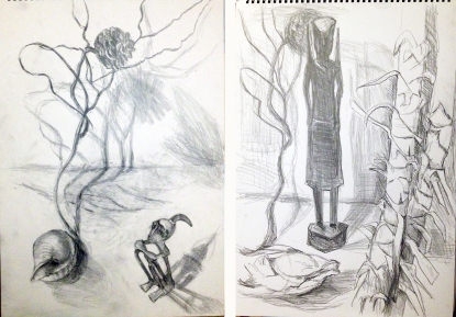 Vergleich mit der vorigen Zeichnung