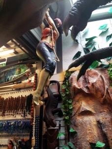 Dschungel im Kunstperlengeschäft