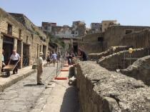 Straßen von Herkulaneum