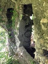 Gemäuer einer alten Wassermühle