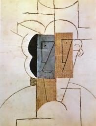 Pablo Picasso, Mann mit Hut, 1912