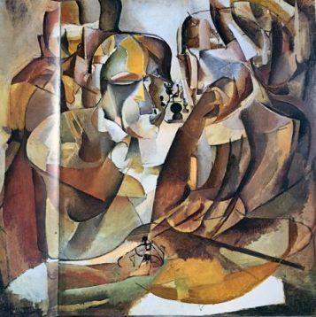 IMG_1837 Duchamp, Schachspieler, 1911
