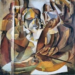Marcel Duchamp, Schachspieler, 1911