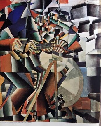 Casimir Malevitch, der Scherenschleifer, 1912