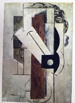 """Pablo Picasso, """"Gesicht"""", 1914"""