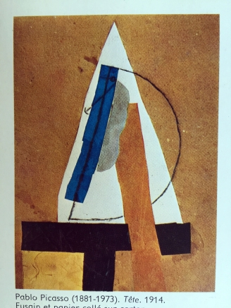 Picasso, Kopf, 1914