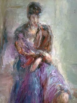 Gerda Kazakou, Portrait
