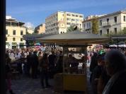 vor der Metro Monastiraki