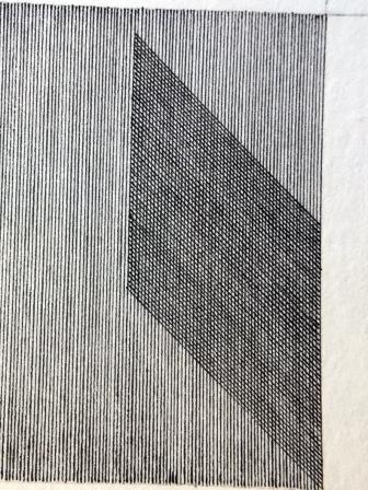 sich überschneidende Linien aus Punkten