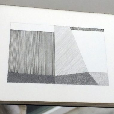 Zeichnung ca 5x8cm