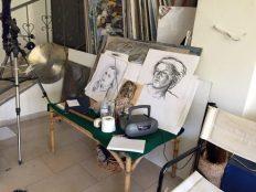 Atelier,Zeichnungen