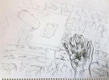 Kuli-Zeichnung