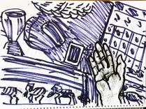 Kuli-Filzi-Zeichnung