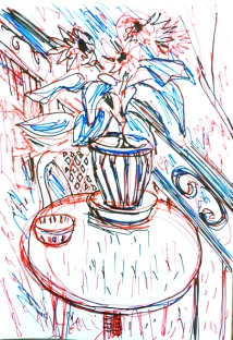 3-Farb-Zeichnung
