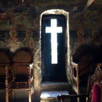 Eingangstür von Innen