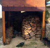 Holzschuppen