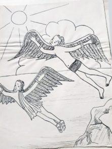 Ikarus, Dädalus ca 1955