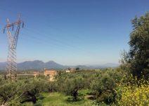 Messenische Ebene und Berge