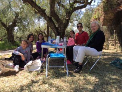 Picknick bei den Römischen Bädern